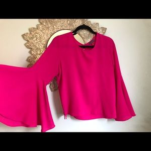 Make an offer! Vibrant Fuchsia Vince Camuto Blouse